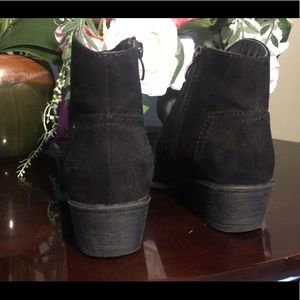 Shoes - Black ankle boots.